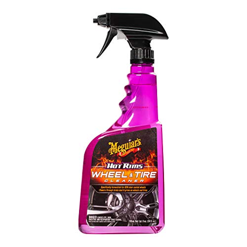 Meguiars 24 Oz Hot Rims & Cool Pflege Alle Wheel Cleaner G9524