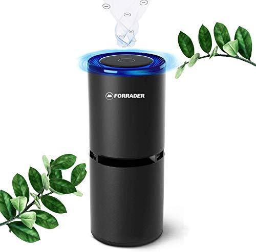 Auto Luftreiniger mit USB Ports, tragbarer Ionisator Luftreiniger Air Purifier Anion, 360-Grad-Reinigung, perfekt für Allergiker und Raucher