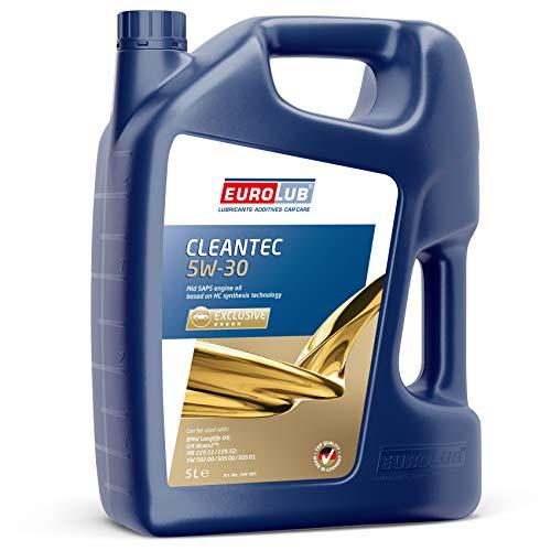EUROLUB 349005 CLEANTEC 5W-30 SAE 5W-30 Motoröl, 5 Liter