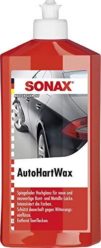 SONAX AutoHartWax (500 ml) flüssig, für neue und neuwertige Bunt- und Metallic-Lacke | Art-Nr. 03012000