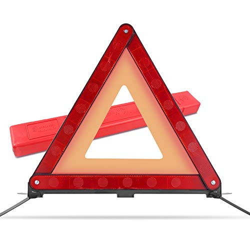 MYSBIKER MO0007 Warndreieck Notfalldreieck ECE R27 RED,1 Pack