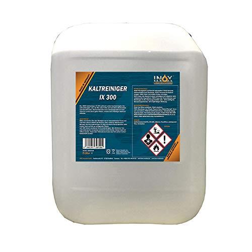 INOX® IX 300 Motor Kaltreiniger, 5L - Motorreiniger Konzentrat, Motorenreiniger gegen Öle, Teer und Fette
