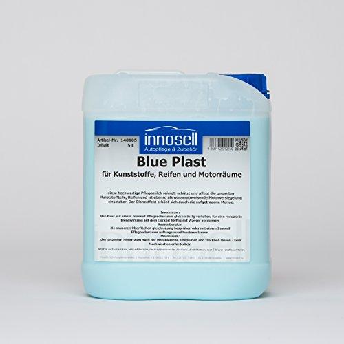 Blue Plast Kunststoffpflege Reifenpflege Motorversiegelung Tiefenpflege Innen und Außenbereich 5 L