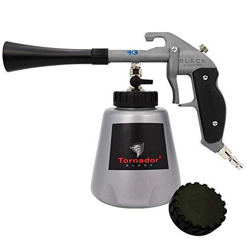 Tornador Black Auto Reinigungspistole Z020 RS (z-020 rs) reinigt Verunreinigungen von Kunststoffen, Gummi, Vinyl, Teppich und Polster 602420