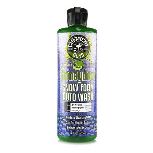 Chemical Guys Honeydew Snowfoam 473ml Autoshampoo, Foamlance Schaum