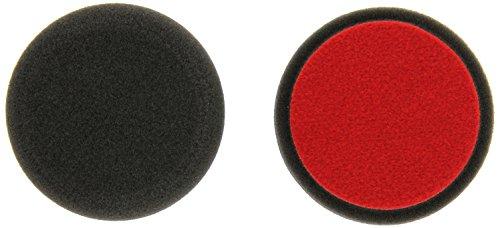 ALCLEAR 558030F_2 558030F Finishpad gegen Hologramme, Auto Polierschwämme, Durchmesser: 80x25 mm, anthrazit,2er Set, Polierpad polieren Pad Schwamm Polierschaum f. Poliermaschine