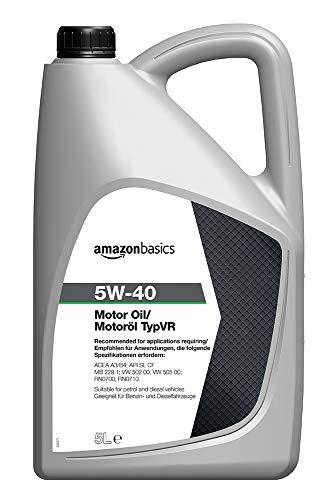Amazon Basics – Motorenöl 5W-40 Typ VR, 5 l