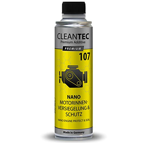 CleanTEC Nano Motor innen Versiegelung und Schutz Additiv, hightec Engine Protect Nano Seal, Motorversiegelung, weniger Verbrauch und mehr Leistung 107