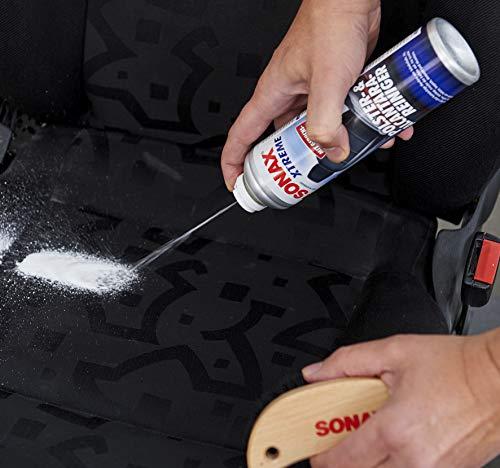 SONAX XTREME Polster- & Alcantara Reiniger (400 ml) reinigt gründlich und schonend alle Textilien im Innenraum | Art-Nr. 02063000