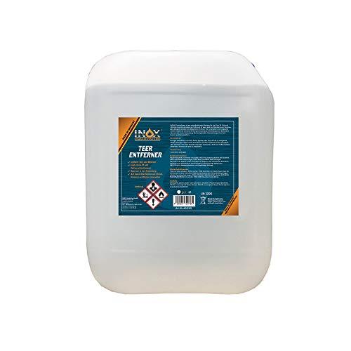 INOX® Auto Teerentferner 5L - Teerreiniger für Innenraum und Außen - Klebstoffentferner Baumharzentferner - Industriereiniger schonend zu Autolack und Chrom