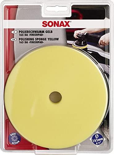 SONAX ExzenterPad medium 165 DA (1 Stück) Verwendung im letzten Arbeitsschritt zum Hochglanzfinish | Art-Nr. 04935000