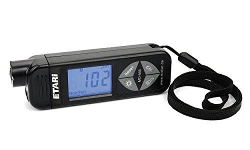 ETARI MD 666 Schichtdickenmessgerät neus Modell 2018 zum Einführungspreis, Lackschichtenmesser für Eisen und Alu-Karosserien, Lackdickenmessgerät, Lackmessgerät mit Selbstkalibrierung
