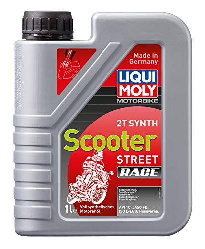 LIQUI MOLY 1053 Motorbike 2T Synth Scooter Street Race 1 l
