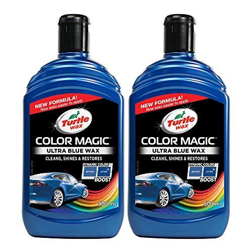 Turtle Wax 52709 Color Magic Polieren Und Lackieren 500Ml Blau