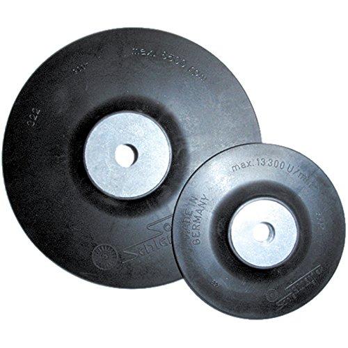 SONNENFLEX Stützteller Gummiteller Fiberscheiben Gewinde M14 verschied. Größe, Durchmesser:Ø 115 mm