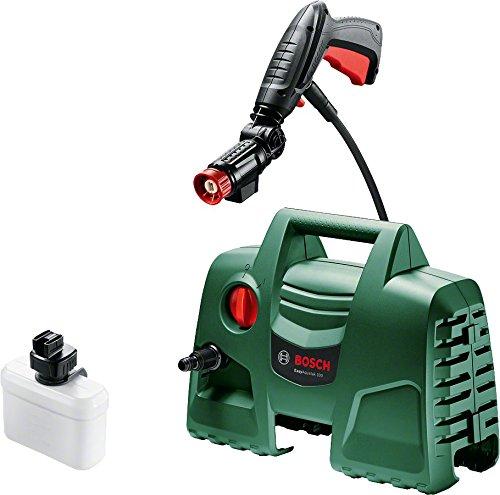 Bosch Hochdruckreiniger EasyAquatak 100 (360° Düse inkl. Reinigungsmitteltank, 5 m Kabel, 3 m Schlauch, Karton, 1200 Watt, Druck: 100 bar, max. Fördermenge: 300 l/h)
