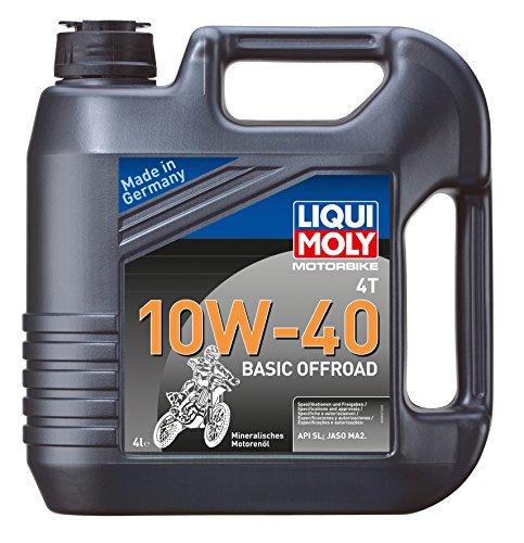 LIQUI MOLY 3062 Motorbike 4T 10W-40 Basic Offroad 4 l