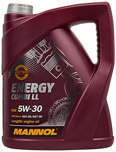 Mannol Motoröl 5L SAE 5W-30; API SM/CF; ACEA C3/A3/B4 SAE 5W-30; API SM/CF; ACEA C3/A3/B4 / VW 504.00/507.00/502.00/505.00/503.01/506.00/505.01/506.01; MB 229.51; BMW Longlife-04