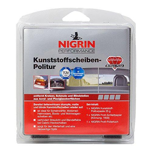 Nigrin 73914 Performance Kunststoffscheiben-Politur 1 Stück