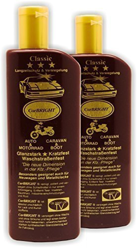 CarBright Autopolitur 2x 500ml