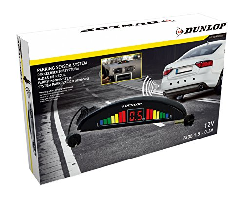 Dunlop Parksensoren - 12 Volt - 78dB - mit Hindernisanzeiger und 4 Sensoren