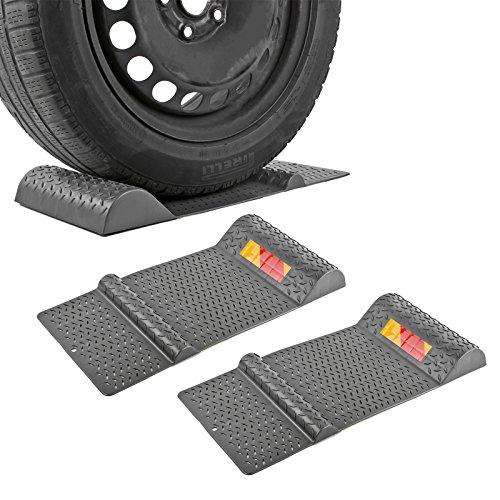 APT 2X Parkmatte Grau 52 x 25 cm selbstklebend rutschfest Einparkhilfe