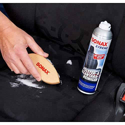 SONAX XTREME Polster- & Alcantara Reiniger (400 ml) reinigt gründlich und schonend alle Textilien im Innenraum   Art-Nr. 02063000