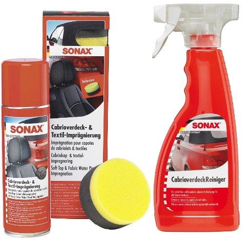 SONAX 1x Profi Angebots-Set Cabrio - Reiniger & Imprägnierung - 2-TLG