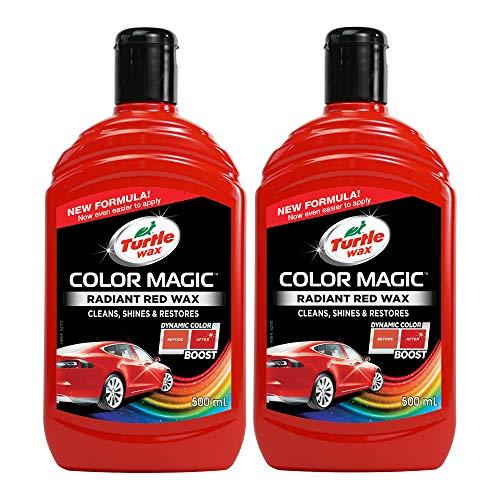 Turtle Wax 52711 Color Magic Polieren Und Lackieren 500Ml Rot