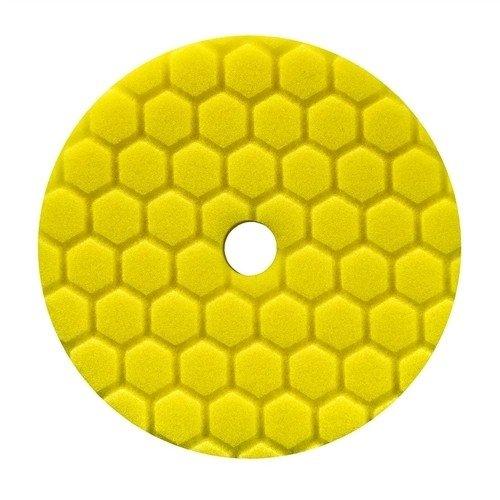 Chemical Guys Hex Logic Quantum 140mm 14cm gelb Heavy Schneiden Pad ~ polnischen Auto