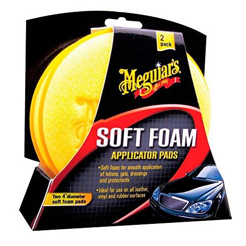 Meguiar's X3070 Soft Foam Applicator Pads Auftragsschwamm, 2-er Pack
