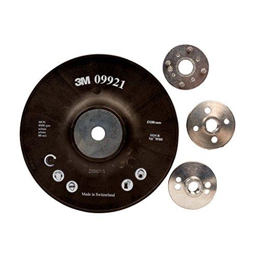 3M Stützteller für Fiberscheiben, 180 mm, M14, gerippt, 1 Stück / Karton