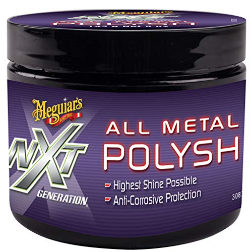 Meguiar's G13005EU NXT All Metal Polish Metallpolitur, 142g