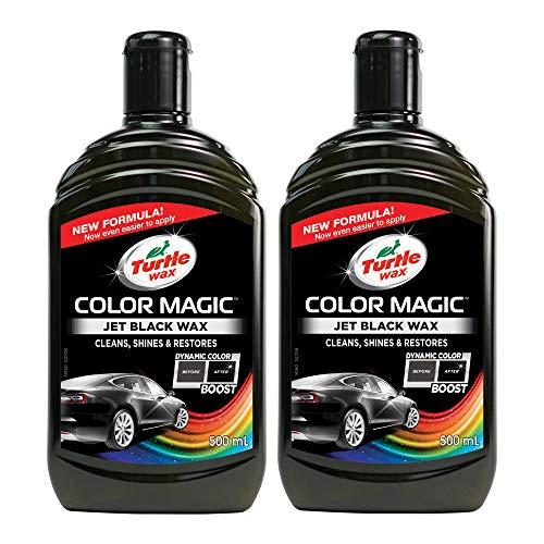 Turtle Wax 52708 Color Magic Polieren Und Lackieren 500Ml Schwarz