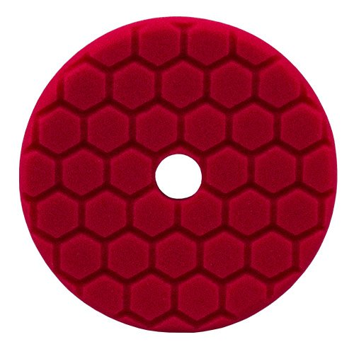 Chemical Guys 5,5 inch Rot Hex-Logic Quantum Finesse Finishing Polierpad