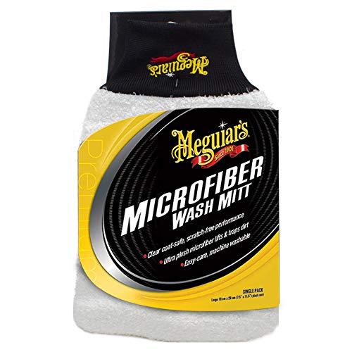 Meguiar's X3002EU Microfibre Wash Mitt Mikrofaser-Waschhandschuh