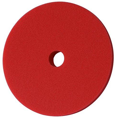 Menzerna 150mm Polierschwamm Rot Gelb grün Blau Polier Foam Pad Variante wählbar! (150mm Rot Heavy Cut Foam Pad)