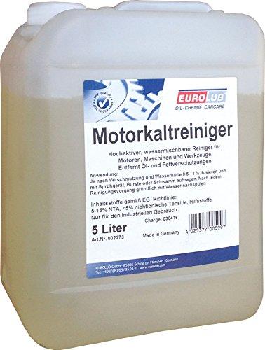 EUROLUB 002273 Motorkaltreiniger, 5 Liter