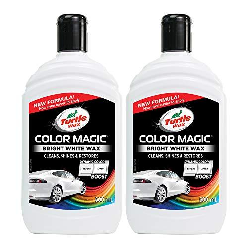 Turtle Wax 52712 Color Magic Polieren Und Lackieren 500Ml Weiß
