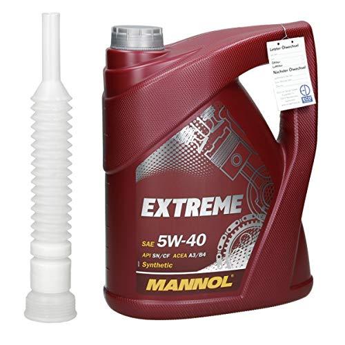 5 L MANNOL - Extreme Motoröl 5W40
