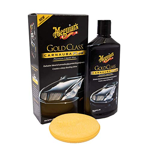 Meguiar's G7016EU Gold Class Carnauba Plus Premium Liquid Wax Autowachs, 473ml