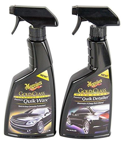 Meguiar's MEGUIARS Gold Quik Wax Wachs Autowachs & Quik Detailer Lackreiniger